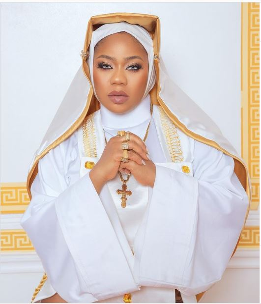 Is Toyin Lawani Crossing The Thin Line Between Fashion And Religion?