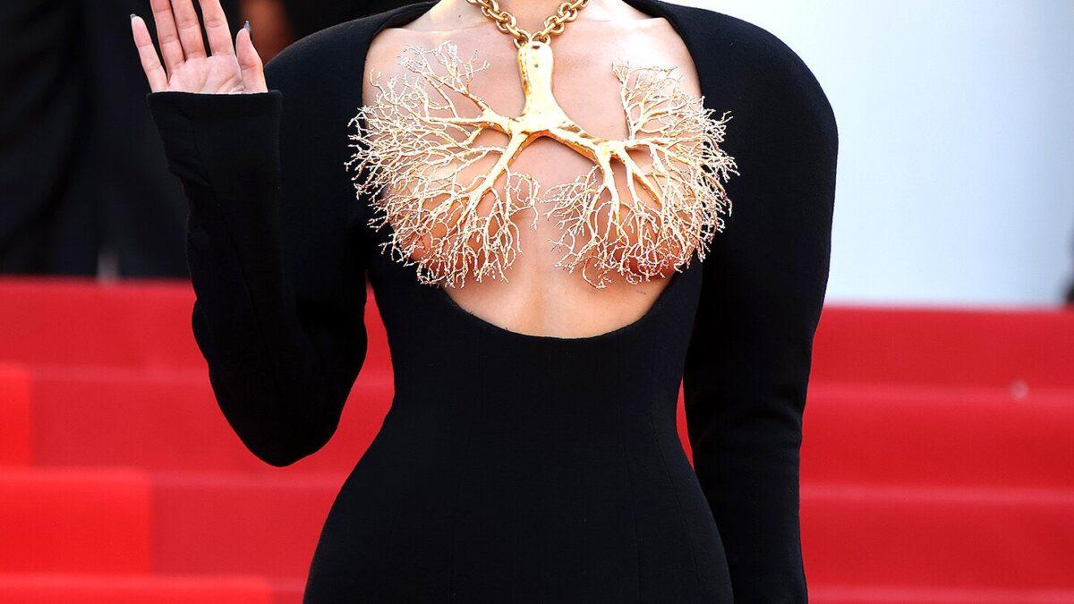 Bella Hadid Turns Head At 2021 Cannes Film Festival