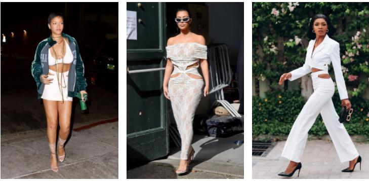 Rihanna, Kim Kardashian, Macrida Joseph In Pelvic Cutouts Trend