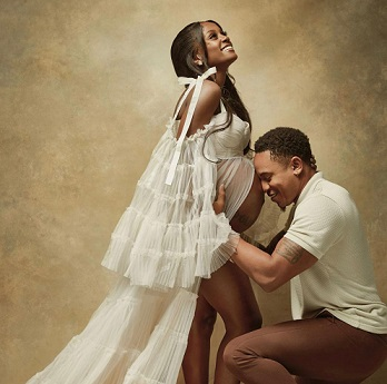 Vanessa Mdee And Rotimi Revealed Their Expecting A Baby Boy On People's Magazine